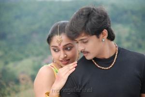 Sreeja, Ashwin in Madhavanum Malarvizhiyum Movie Stills