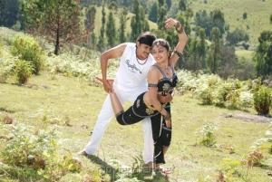 Ashwin, Sreeja in Madhavanum Malarvizhiyum Movie Stills