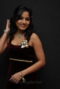 Beautiful Madhavi Latha in Hot Dress at Aravind 2 Audio Release