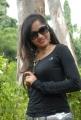 Actress Madhavi Latha Hot Pics in Black Dress