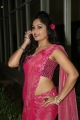 Actress Madhavi Latha Glam Pics In Pink Saree