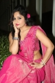 Actress Madhavi Latha Hot Stills in Pink Saree