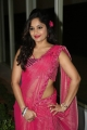 Actress Madhavi Latha in Pink Saree Hot Stills