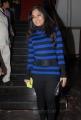Actress Madhavi Latha Photos in Winter Wear Dress