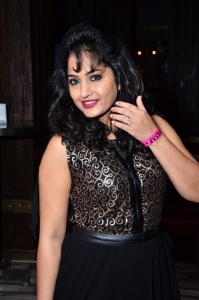 Actress Madhavi Latha Photos at Celebridge.in Launch
