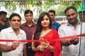Actress Madhavi Latha @ Shree Parinayaa Sarees & Suits showroom launch
