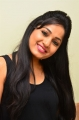 Actress Madhavi Latha in Black Dress Stills
