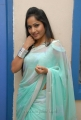 Madhavi Latha Photos in Saree at Chudalani Cheppalani Audio Launch