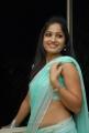 Beautiful Madhavilatha in Hot Blue Saree Photos