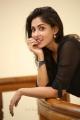 Actress Madhu Shalini in Black Dress Latest Photos