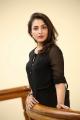 Goodachari Actress Madhu Shalini Black Dress Photos