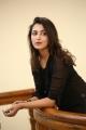 Actress Madhu Shalini Black Dress Photos @ Goodachari Success Meet