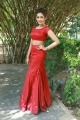 Actress Madhu Shalini Hot Stills in Red Dress