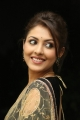 Actress Madhu Shalini Hot Photos in Transparent Saree & Black Blouse