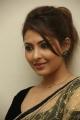 Actress Madhu Shalini Hot Photos in Transparent Saree with Black Blouse