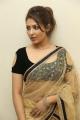 Actress Madhu Shalini Hot Photos in Black Blouse with Transparent Saree