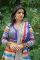 Telugu Actress Madhu Sharma in Colorful Churidar Dress
