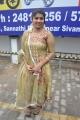 Actress Madhushree Photos in Golden Churidar