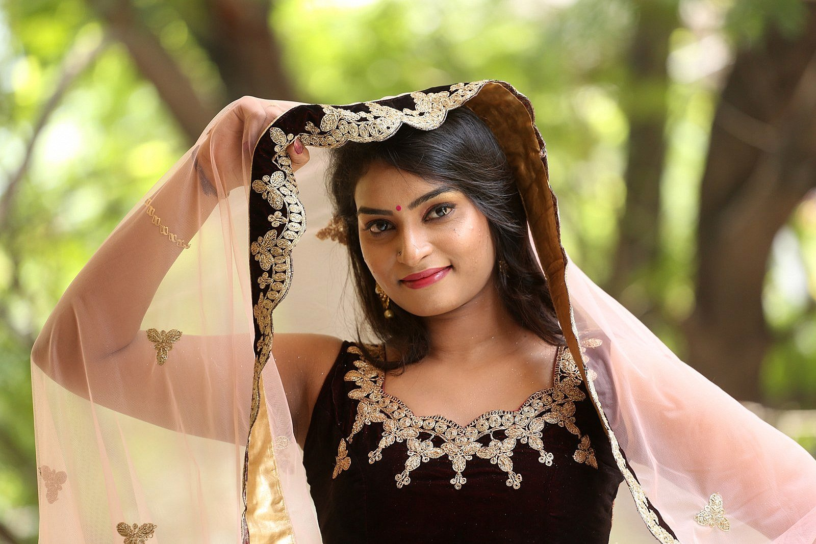 Actress Madhubala Photos @ Sivalingapuram Audio Release