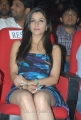Madhurima Banerjee in Sleeveless Blue Dress at Shadow Audio Release