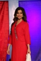 Madhurima Banerjee Red Churidar Stills @ FBB Dusshera Collection Launch