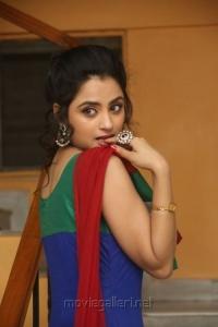 Telugu Actress Madirakshi Mundle Stills @ Ori Devudoy Audio Release