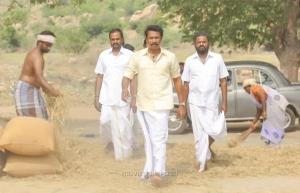 G. Marimuthu, Samuthirakani, PL Thenappan in Madhura Veeran Movie Stills HD
