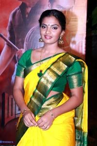 Actress Meenakshi @ Madurai Veeran Audio Launch Stills
