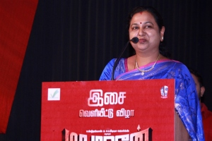 Premalatha Vijayakanth @ Madurai Veeran Audio Launch Stills