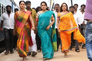 Aishwarya, Ramya Krishnan, Kiran in Maga Maharaju Movie Latest Stills