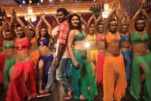 Vishal, Poonam Bajwa in Maga Maharaju Movie Latest Stills