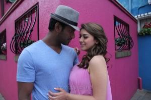 Vishal, Hansika Motwani in Maga Maharaju Movie Latest Stills