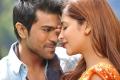 Ram Charan, Shruti Hassan in Magadheera Tamil Movie Stills