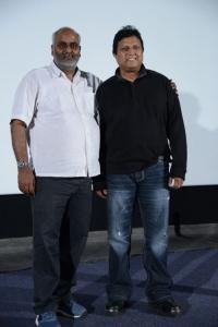 MM Keeravani, Mani Sharma at Magajaathi Video Song Launch Photos