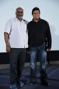 MM Keeravani, Mani Sharma at Magajaathi Video Song Launch Stills