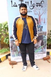 Music Director Thaman @ Magamuni Movie Press Meet Stills