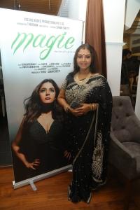 Fathima Babu @ Magie Movie First Look Poster Launch Stills