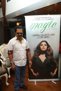 Pandiarajan @ Magie Movie First Look Poster Launch Stills