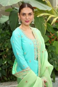 Actress Aditi Rao Hydari New Stills @ Maha Samudram Movie Promotions