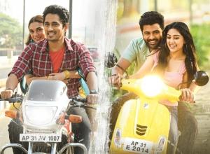 Siddharth, Aditi Rao Hydari, Sharwanand, Anu Emmanuel in Maha Samudram Movie HD Images