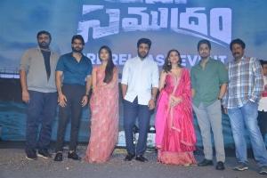 Maha Samudram Movie Pre Release Event Stills