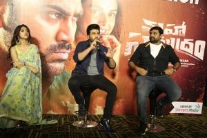 Anu Emmanuel, Sharwanand, Ajay Bhupathi @ Maha Samudram Trailer Launch Stills
