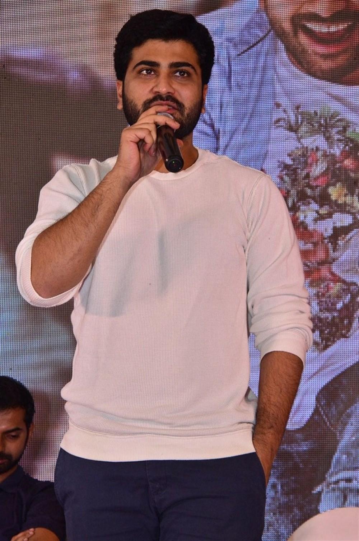 Sharwanand @ Mahanubhavudu Movie Success Meet Images