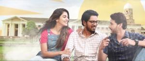 Allari Naresh, Pooja Hegde, Mahesh Babu, in Maharshi Movie Stills HD