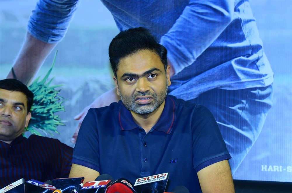 Director Vamsi Paidipally @ Maharshi Movie Success Celebrations Stills