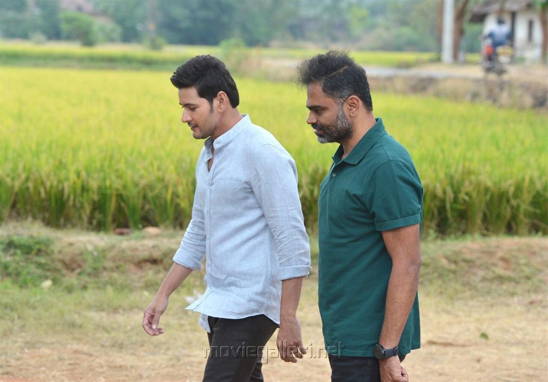 Mahesh Babu, Vamsi Paidipally @ Maharshi Movie Working Stills
