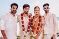Simbu, Anirudh @ Mahat Raghavendra Prachi Mishra Wedding Stills