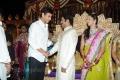 Mahesh Babu at Jr NTR Lakshmi Pranathi Marriage Photos