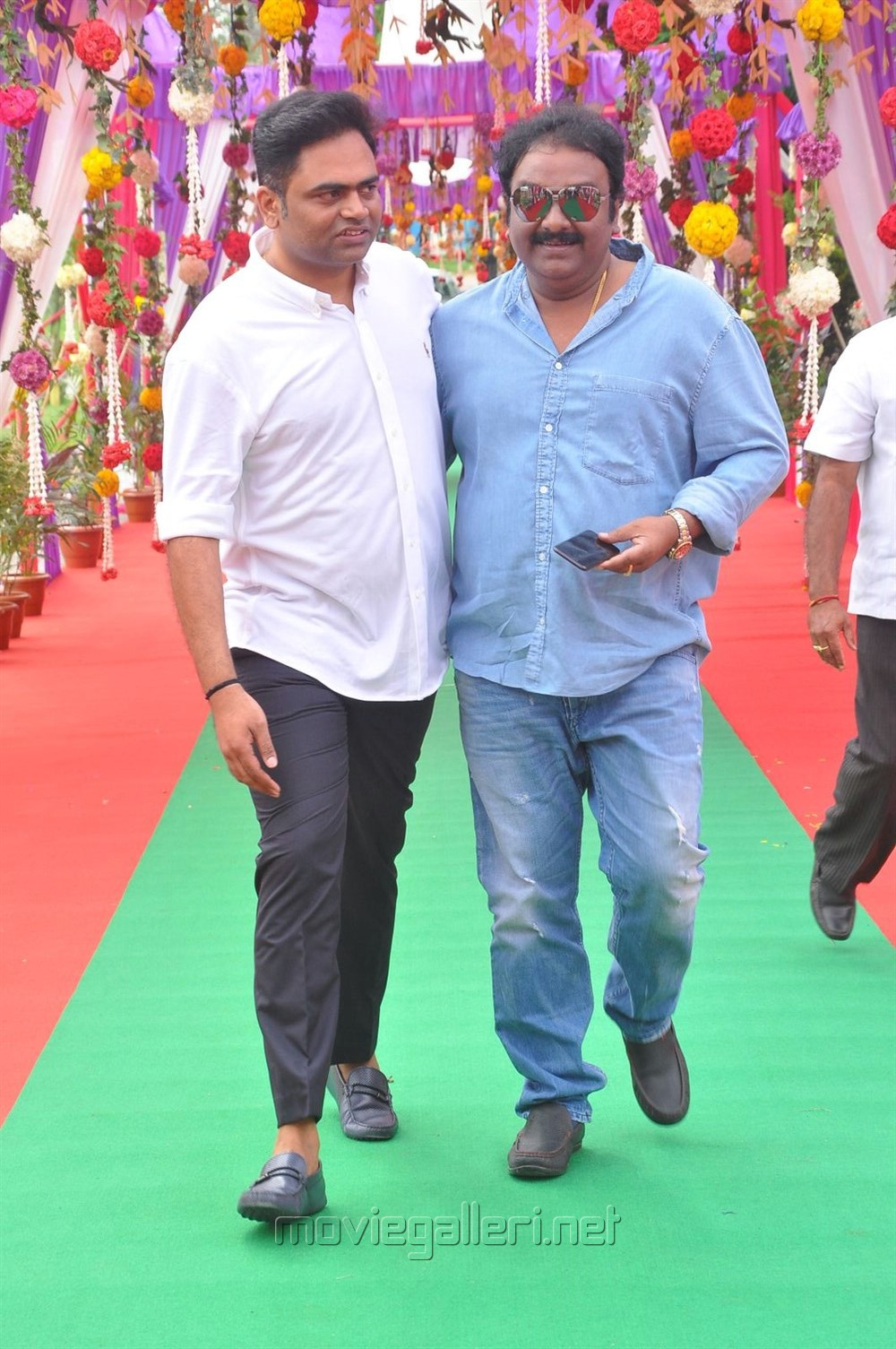 VV Vinayak @ Mahesh Babu Vamsi Paidipally Movie Opening Photos