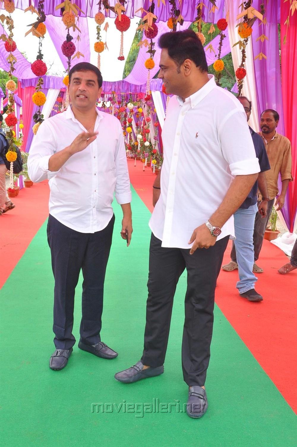 Dil Raju @ Mahesh Babu Vamsi Paidipally Movie Opening Photos